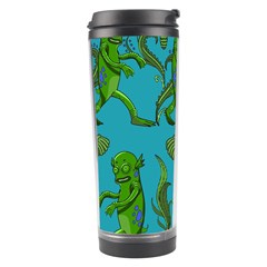 Swamp Monster Pattern Travel Tumbler by BangZart