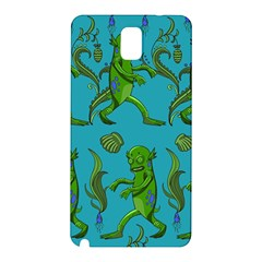 Swamp Monster Pattern Samsung Galaxy Note 3 N9005 Hardshell Back Case by BangZart