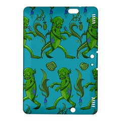 Swamp Monster Pattern Kindle Fire Hdx 8 9  Hardshell Case by BangZart