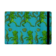 Swamp Monster Pattern Ipad Mini 2 Flip Cases by BangZart