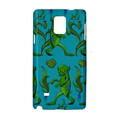 Swamp Monster Pattern Samsung Galaxy Note 4 Hardshell Case