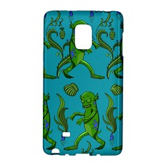 Swamp Monster Pattern Galaxy Note Edge by BangZart