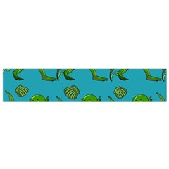 Swamp Monster Pattern Flano Scarf (small)