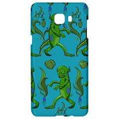 Swamp Monster Pattern Samsung C9 Pro Hardshell Case  by BangZart