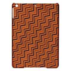 Brown Zig Zag Background Ipad Air Hardshell Cases