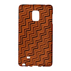 Brown Zig Zag Background Galaxy Note Edge by BangZart