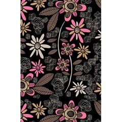 Flower Art Pattern 5 5  X 8 5  Notebooks by BangZart