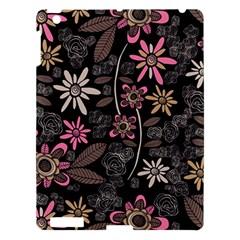 Flower Art Pattern Apple Ipad 3/4 Hardshell Case by BangZart