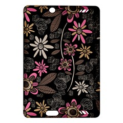 Flower Art Pattern Amazon Kindle Fire Hd (2013) Hardshell Case by BangZart