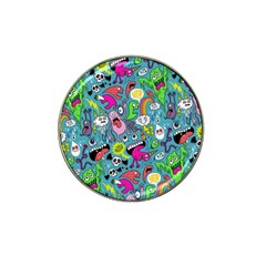 Monster Party Pattern Hat Clip Ball Marker by BangZart