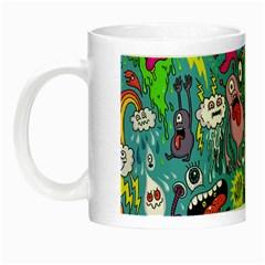 Monster Party Pattern Night Luminous Mugs by BangZart