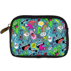 Monster Party Pattern Digital Camera Cases by BangZart