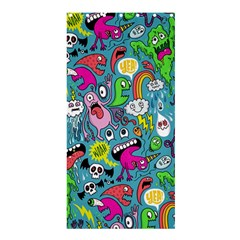 Monster Party Pattern Shower Curtain 36  X 72  (stall)  by BangZart