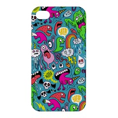 Monster Party Pattern Apple Iphone 4/4s Hardshell Case by BangZart