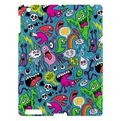 Monster Party Pattern Apple Ipad 3/4 Hardshell Case by BangZart