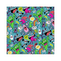 Monster Party Pattern Acrylic Tangram Puzzle (6  X 6 ) by BangZart