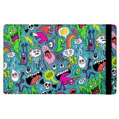 Monster Party Pattern Apple Ipad 3/4 Flip Case by BangZart