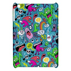 Monster Party Pattern Apple Ipad Mini Hardshell Case by BangZart