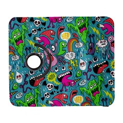 Monster Party Pattern Galaxy S3 (flip/folio) by BangZart