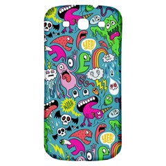 Monster Party Pattern Samsung Galaxy S3 S Iii Classic Hardshell Back Case by BangZart