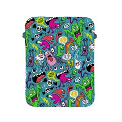 Monster Party Pattern Apple Ipad 2/3/4 Protective Soft Cases by BangZart