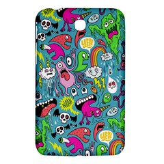 Monster Party Pattern Samsung Galaxy Tab 3 (7 ) P3200 Hardshell Case  by BangZart