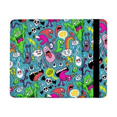 Monster Party Pattern Samsung Galaxy Tab Pro 8 4  Flip Case
