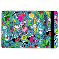 Monster Party Pattern Ipad Air 2 Flip by BangZart