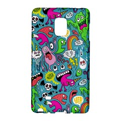 Monster Party Pattern Galaxy Note Edge by BangZart