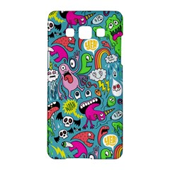 Monster Party Pattern Samsung Galaxy A5 Hardshell Case  by BangZart