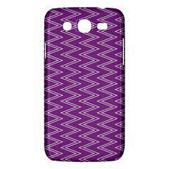 Zig Zag Background Purple Samsung Galaxy Mega 5 8 I9152 Hardshell Case