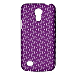 Zig Zag Background Purple Galaxy S4 Mini