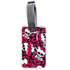 Mattel Monster Pattern Luggage Tags (two Sides) by BangZart