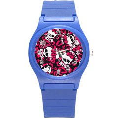 Mattel Monster Pattern Round Plastic Sport Watch (s) by BangZart