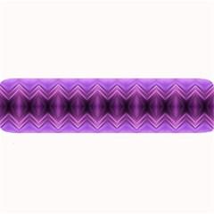 Purple Pink Zig Zag Pattern Large Bar Mats