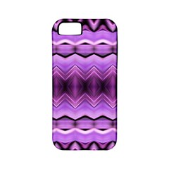 Purple Pink Zig Zag Pattern Apple Iphone 5 Classic Hardshell Case (pc+silicone) by BangZart