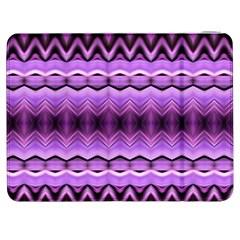 Purple Pink Zig Zag Pattern Samsung Galaxy Tab 7  P1000 Flip Case