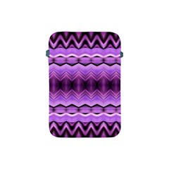 Purple Pink Zig Zag Pattern Apple Ipad Mini Protective Soft Cases by BangZart