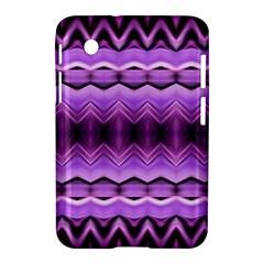 Purple Pink Zig Zag Pattern Samsung Galaxy Tab 2 (7 ) P3100 Hardshell Case