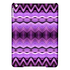 Purple Pink Zig Zag Pattern Ipad Air Hardshell Cases