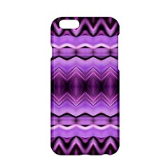 Purple Pink Zig Zag Pattern Apple Iphone 6/6s Hardshell Case by BangZart
