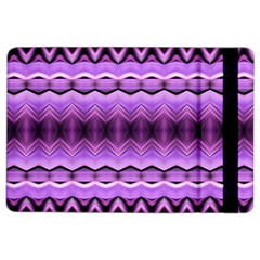 Purple Pink Zig Zag Pattern Ipad Air 2 Flip