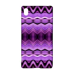Purple Pink Zig Zag Pattern Sony Xperia Z3+ by BangZart
