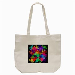 3d Fsm Tessellation Pattern Tote Bag (cream) by BangZart