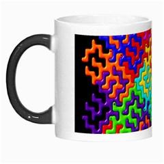 3d Fsm Tessellation Pattern Morph Mugs by BangZart
