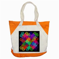 3d Fsm Tessellation Pattern Accent Tote Bag