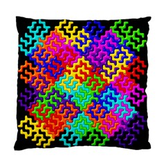 3d Fsm Tessellation Pattern Standard Cushion Case (one Side)