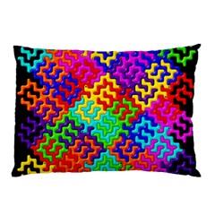 3d Fsm Tessellation Pattern Pillow Case