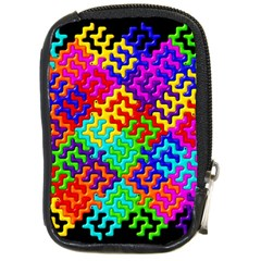 3d Fsm Tessellation Pattern Compact Camera Cases by BangZart