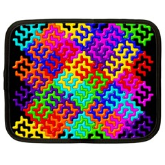 3d Fsm Tessellation Pattern Netbook Case (xxl)